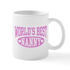 World's Best Nanny Mug