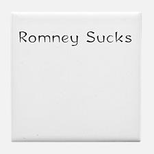 Mitt Romney sucks 2012 Tile Coaster