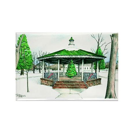 Christmas at Washington Park, Dunellen NJ Magnet