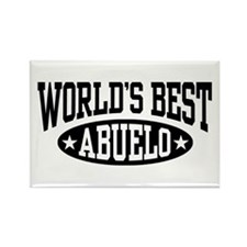 World's Best Abuelo Rectangle Magnet