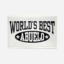 World's Best Abuelo Rectangle Magnet