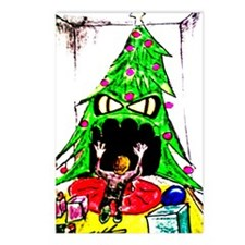 Unique Cool christmas Postcards (Package of 8)
