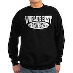 World's Best PawPaw Sweatshirt (dark)
