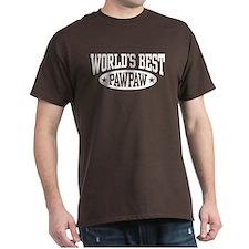 World's Best PawPaw T-Shirt