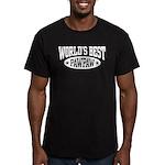 World's Best PawPaw Men's Fitted T-Shirt (dark)