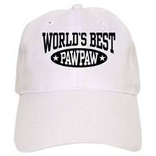 World's Best PawPaw Baseball Cap