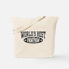 World's Best PawPaw Tote Bag