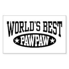 World's Best PawPaw Decal