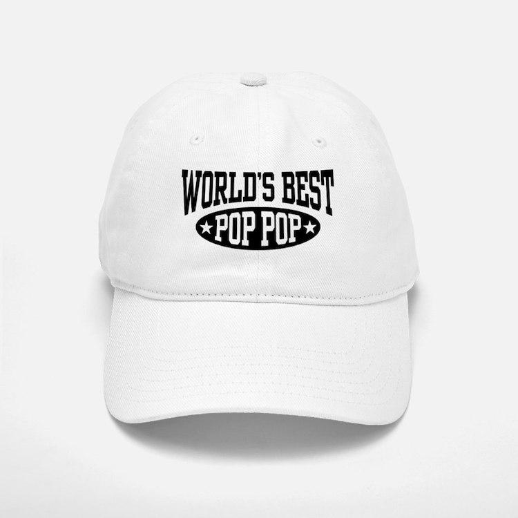 World's Best Pop Pop Baseball Baseball Cap