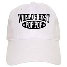World's Best Pop Pop Baseball Cap