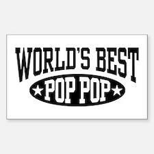 World's Best Pop Pop Decal