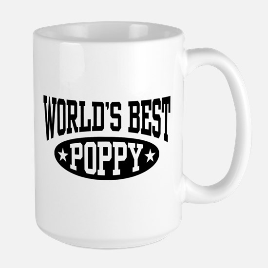 World's Best Poppy Large Mug