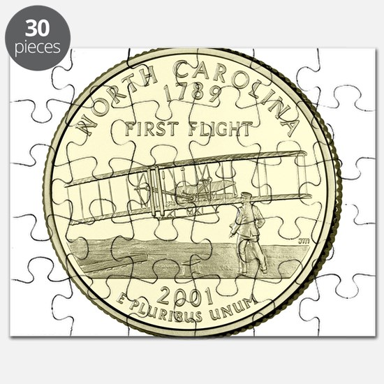 North Carolina Quarter 2001 Basic Puzzle