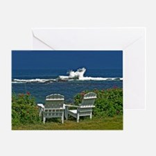 Surfside Oceanfront View Greeting Card