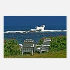 Surfside Oceanfront View Postcards (Package of 8)