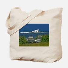 Surfside Oceanfront View Tote Bag