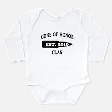 Established 2010 Dark Long Sleeve Infant Bodysuit