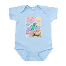 Tarot Fool Watercolor Rider Waite Infant Creeper