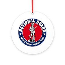 Guard Logo-Tshirt-transp.png Ornament (Round)