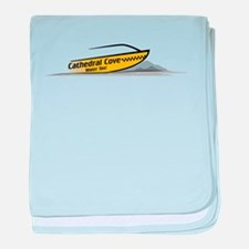 Cathedral Cove Water Taxi baby blanket