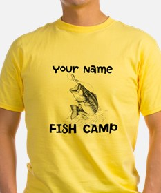 Personlize Fish Camp T