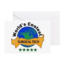 surgical tech Greeting Cards