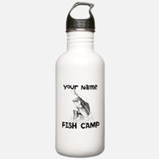 Personlize Fish Camp Sports Water Bottle
