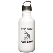 Personlize Fish Camp Water Bottle