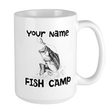 Personlize Fish Camp Mug