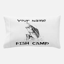 Personlize Fish Camp Pillow Case