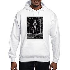 spooky thin man Hoodie