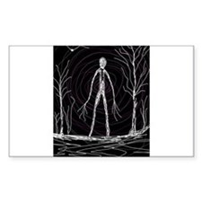 spooky thin man Decal