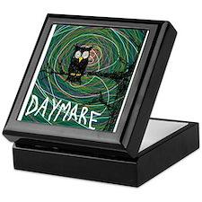 creepy owl daymare Keepsake Box