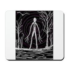 spooky thin man Mousepad