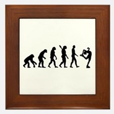 Evolution Figure skating Framed Tile