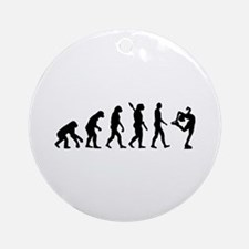 Evolution Figure skating Ornament (Round)