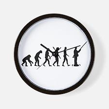 Evolution fishing Wall Clock