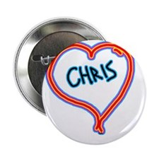 "i love chris 2.25"" Button"