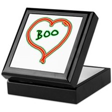 i love boo Keepsake Box