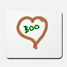 i love boo Mousepad