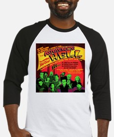 Audience From Hell Horror Movie Baseball Jersey