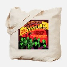 Audience From Hell Horror Movie Tote Bag