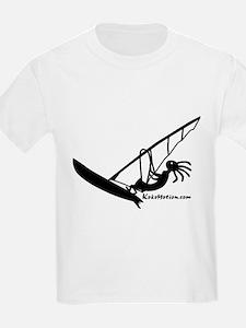 Kokopelli Windsurfer Kids T-Shirt