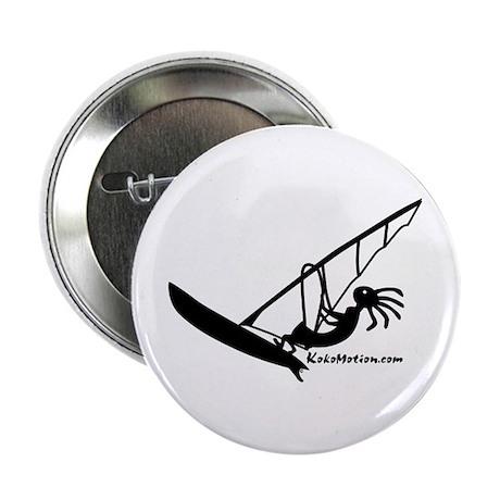 "Kokopelli Windsurfer 2.25"" Button (100 pack)"