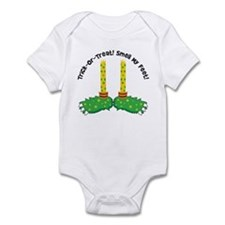 Trick or Treat Smell My Feet Infant Bodysuit