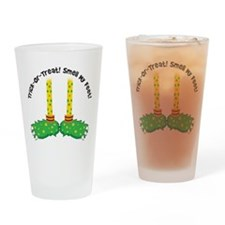 Trick or Treat Smell My Feet Drinking Glass