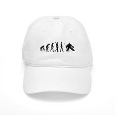 Evolution hockey goalie Baseball Cap