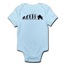 Evolution hockey goalie Infant Bodysuit