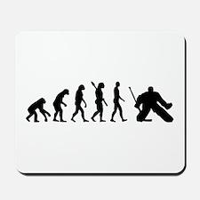 Evolution hockey goalie Mousepad