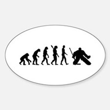 Evolution hockey goalie Decal
